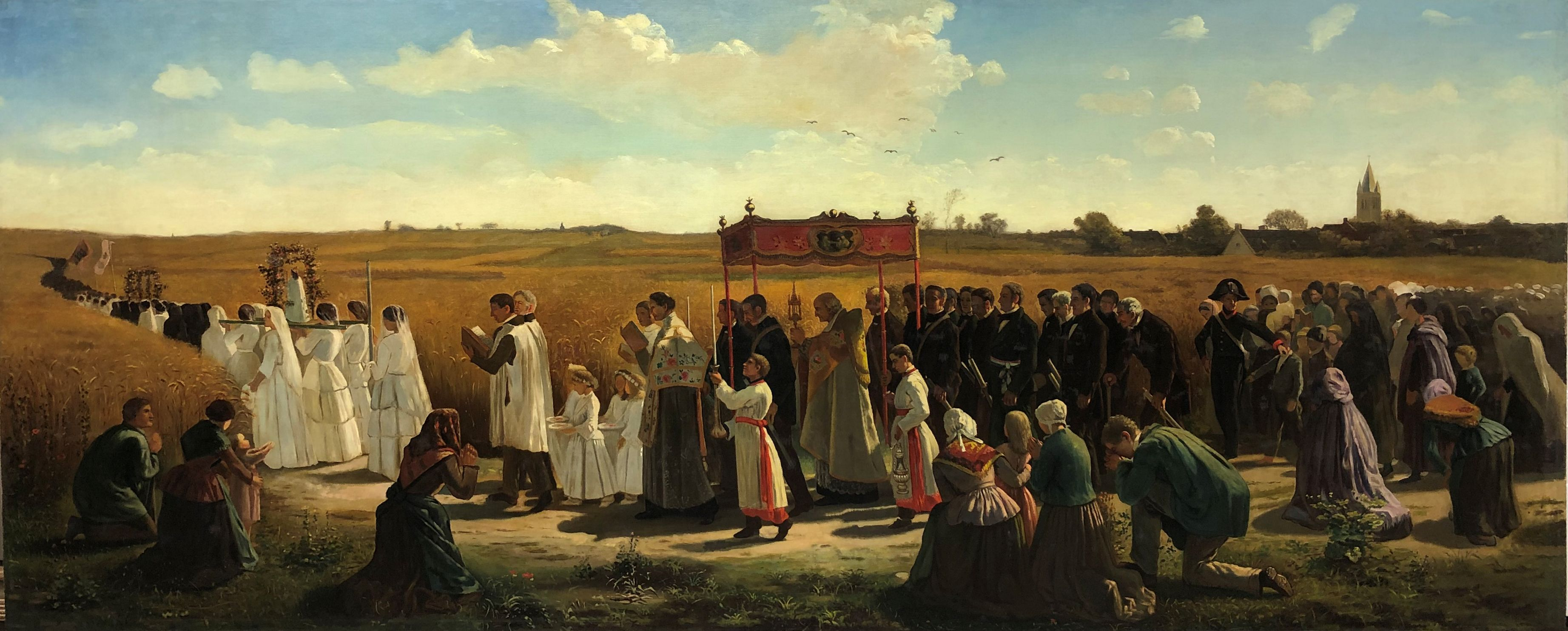Blessing of the Wheat in Artois