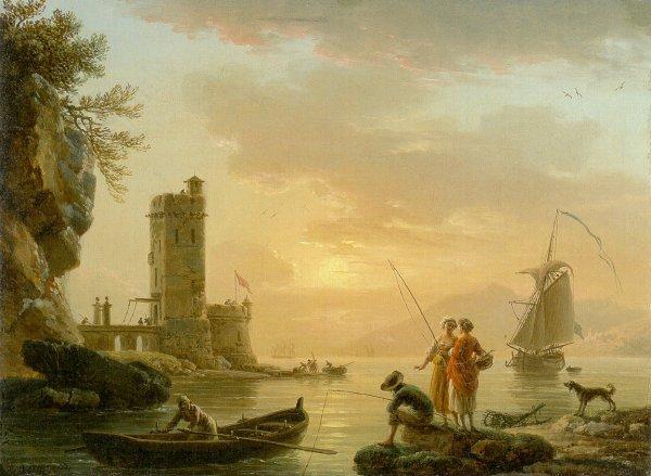 A Fishing Scene